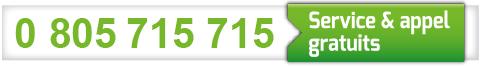 0 805 715 715 Service & appel gratuits